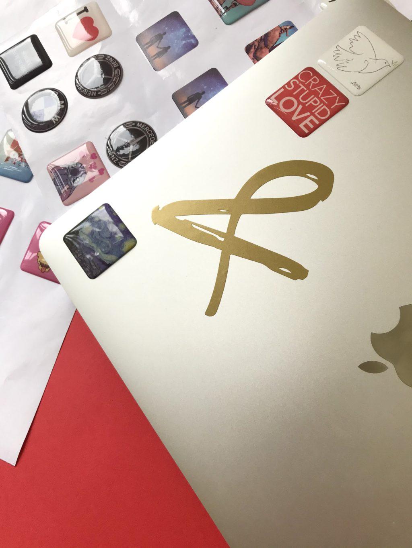 Печать фигурных наклеек фото 6