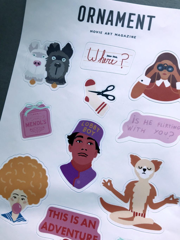 Печать наборов наклеек фото 6